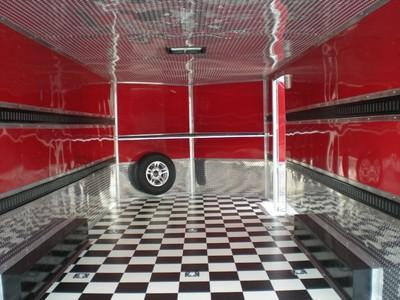 New 8 5x24 5200 Tandem Diamond Cargo Trailer Enclosed Car