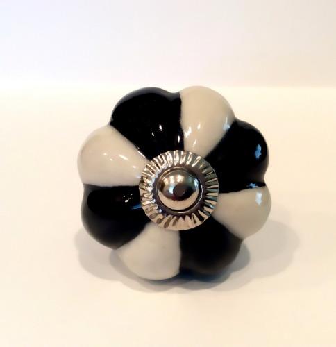 Black and white porcelain cabinet knobs dresser drawer Black knobs on white cabinets