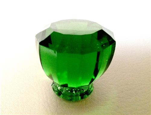 Green Glass Cabinet Knobs And Drawer Pulls: Antique Vintage Style Emerald Green Glass Crystal Cabinet