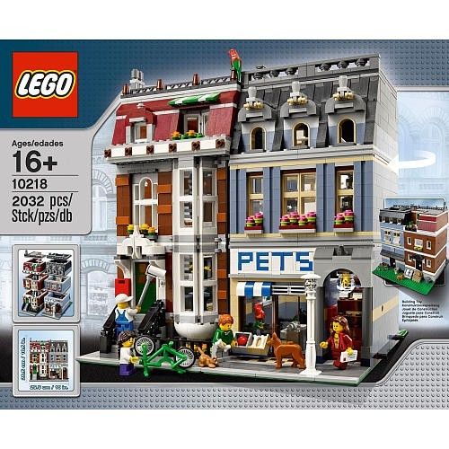 The Modular Building Lego Pet Shop Part Creator