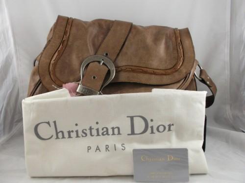 Christian Dior Gaucho Double Saddle Bag Repeatboutiquestore