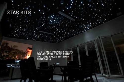 Fibre Optic Star ceiling Kit 800 X 4 MTR Long Twinkle White Model  FREE UK  POST  Fibre Optic Star ceiling Kit 800 X 4 MTR Long Twinkle White Model  . Fibre Optic Ceiling Lights Uk. Home Design Ideas