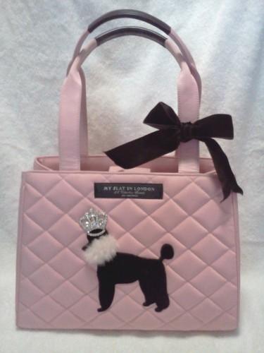 My Flat In London Pink Poodle Handbag Chanelandmore