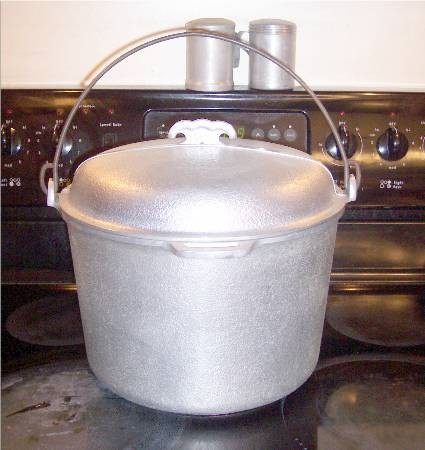 Guardian Service Ware Aluminum Cookware 12 qt Roaster Canner Kettle Oven w lid gs32