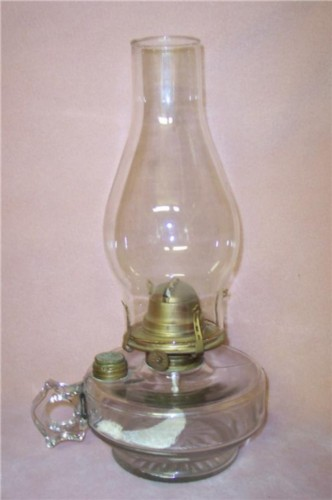 Antiquevintage White Flame Finger Oil Lamp 1 Jpeg