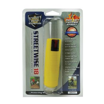 Streetwise Pepper Spray w/ Molded Holster
