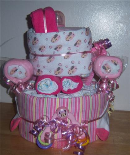 One Of A Kind Baby Shower Single Tier Bassinet Minnie