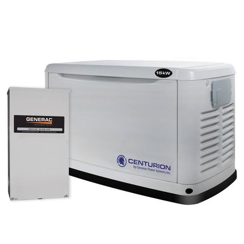Centurion Series - 15KW Automatic Standby Generator w/ Transfer Switch