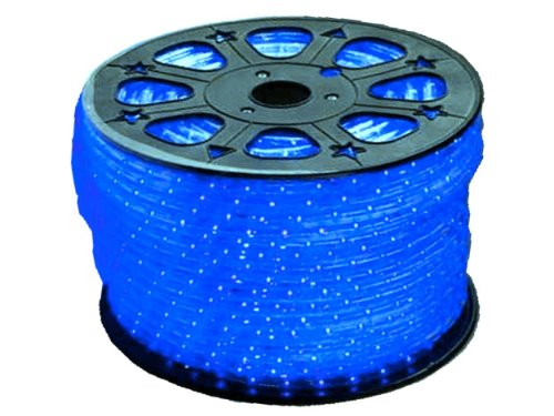 110VAC Blue LED Strip Lights