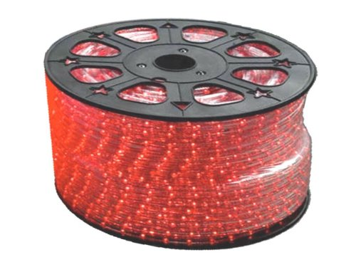 120VAC RED LED Rope Lightghting