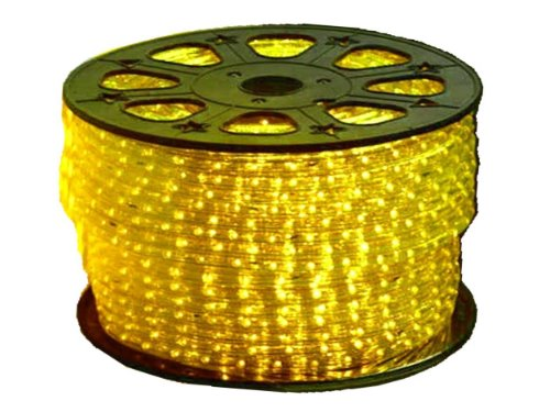 110VAC Yellow LED Strip Light