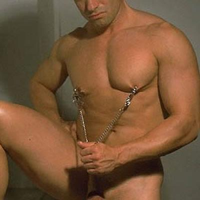 Male Nipple Clamps And Cock Ring
