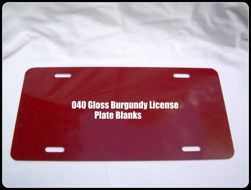 Web- 040 Gloss Burgundy License Plate.jpeg