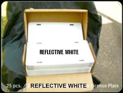 Web-024 Gloss White License Plate 25pcs.jpeg