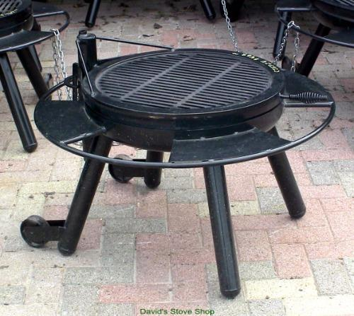 24 Quot Outdoor Fire Pit With Grill Top Made In Texas