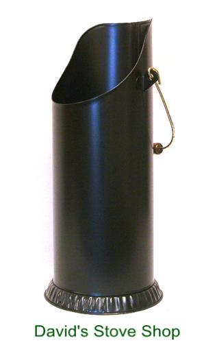 Black Pellet Bucket For Wood Pellet Stoves Davids E