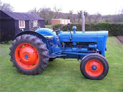 Ford Super Dexta Tractor Values : Ford dexta owners manual