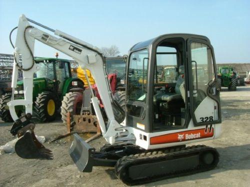 bobcat 328 mini excavator manual