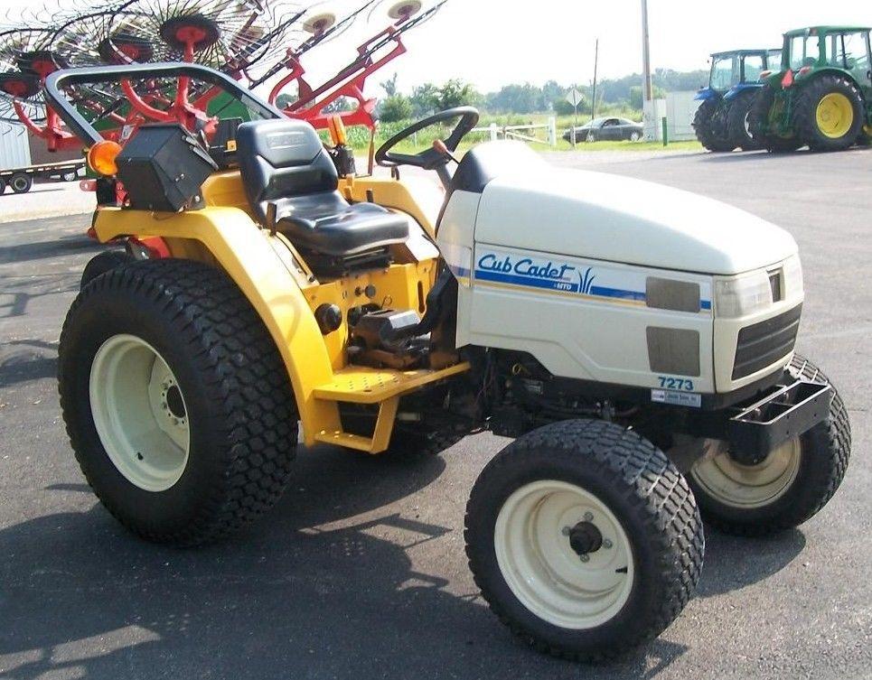 Cub Cadet Compact Tractors : Cub cadet pdf compact tractor service shop manual