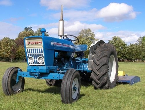 1975 Ford 4000 Tractor : Ford  pdf tractor service shop manual