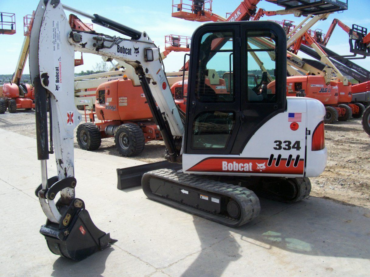 bobcat 334 repair manual pdf