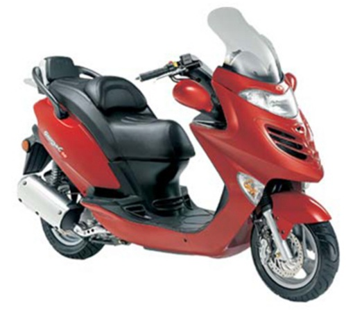 Kymco Spike 125 Service Manual border=