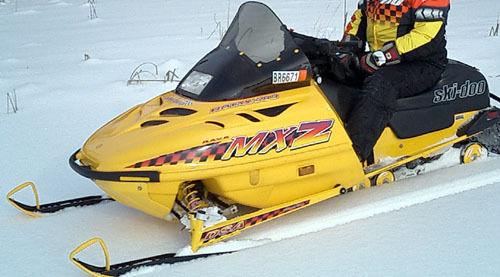 1996 ski doo mxz 583 service manual