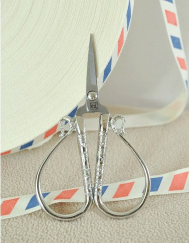 DECORATIVE EMBROIDERY SCISSORS - Silver - Small XiangYun - Jiong1clover2009
