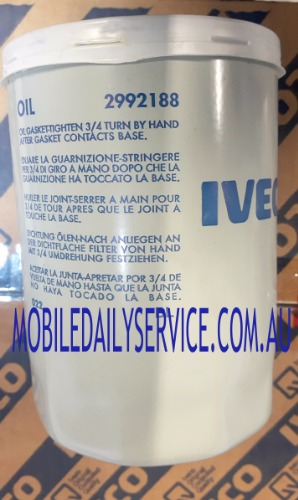 Iveco Daily Oil Filter 2992188 Md Iveco Service And