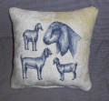 nubian goat sketch pillow.jpeg