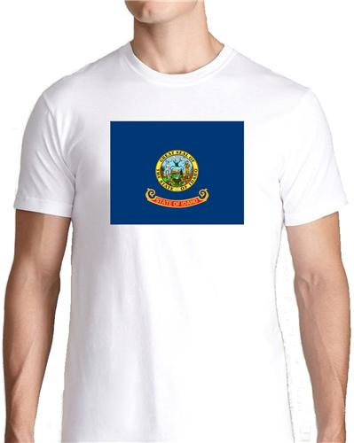 Idaho state flag t shirt tee picture photo boise gem for Boise t shirt printing