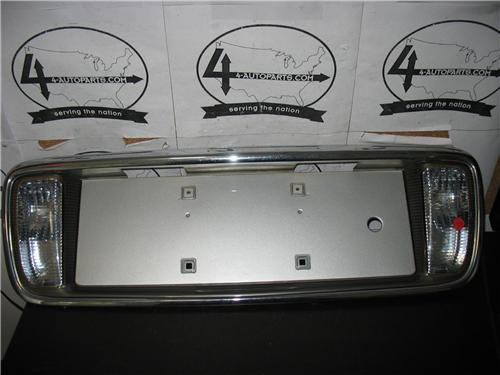 2000 2205 Cadillac Deville License Plate Holder Backup