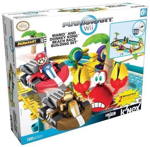 K Nex Mario Kart Nintendo Wii Race Building Set Motorized