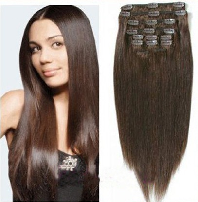 Brazilian Remy Clip In Hair Extensions 51