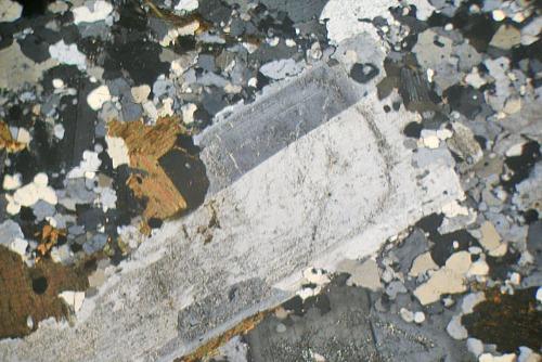 Granite, Ben Nevis, Scotland. Thin Section Microscope ...