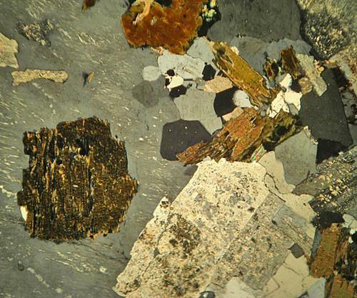 Shap Granite Cumbria Thin Section Microscope Slide Geosec