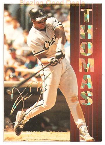 1994 Sports Stars Usa 124 Frank Thomas Baseball Card