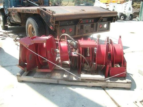 LOT OF 12 REELCRAFT HOSE REELS USED AIR HYDRAULIC FLUIDS SERVICED