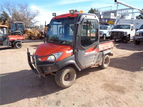 kubota rtv 1100 4x4 diesel atv side by side 4 wheeler off road utility ranch railiron used. Black Bedroom Furniture Sets. Home Design Ideas
