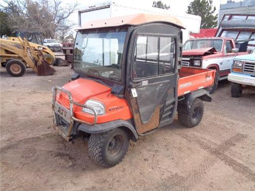Kubota Rtv 900 4x4 Diesel Atv Side By Side 4 Wheeler Off