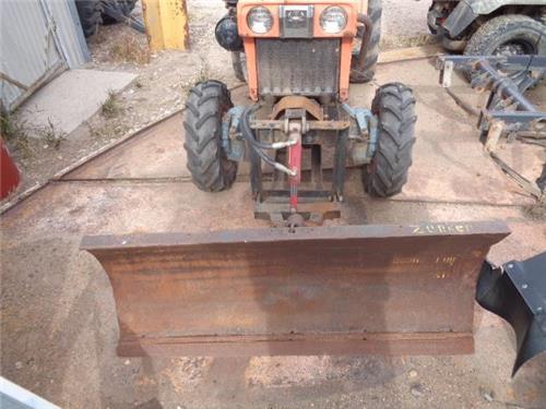 Kubota Plow Parts : Kubota b hst diesel tractor snow plow blade pto