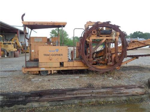 Railroad Maintenance Of Way Mow Fairmont Tamper Trac