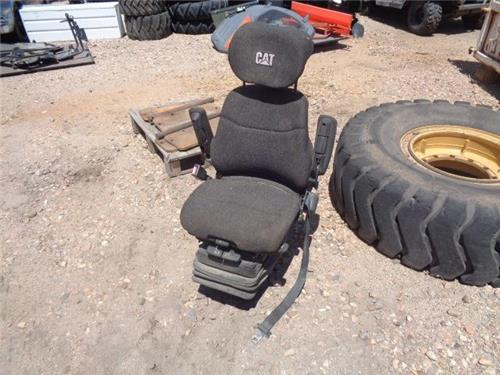 A For 555a Backhoe Seat : Cat caterpillar backhoe seat swivel cloth with