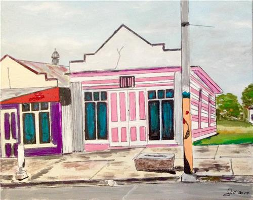 Quirky Monto Buildings