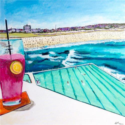 Drinks by the Pool (Bondi-Icebergs)