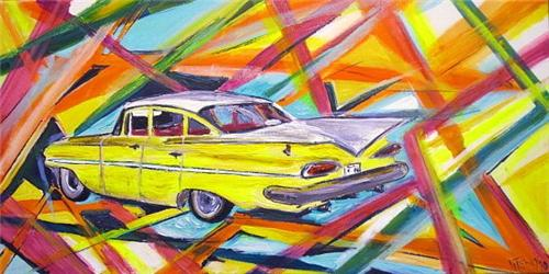 'Everything Old is Cool again' 60x30cm