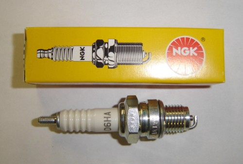 spark plug ngk d6ha st90 cm91 northeast vintage cycle. Black Bedroom Furniture Sets. Home Design Ideas