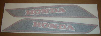 Honda CT70 '82 Main Frame Decals 1982