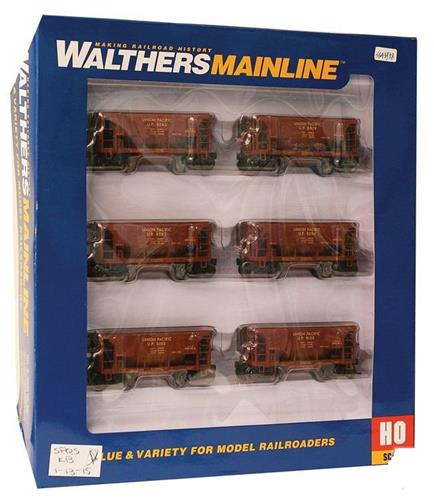 HO-Walthers Mainline-910-58022-Union Pacific 24' Minnesota Ore Cr-6 Crs-6 Rd #'s