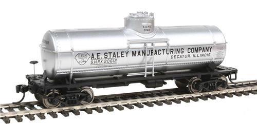 HO-Walthers Mainline-910-1017-AE Staley Co.-36' 10K Gallon Tank Car #20612